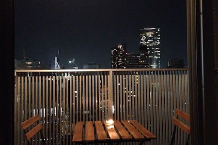 Top floor(12F) in the Azabu Juban
