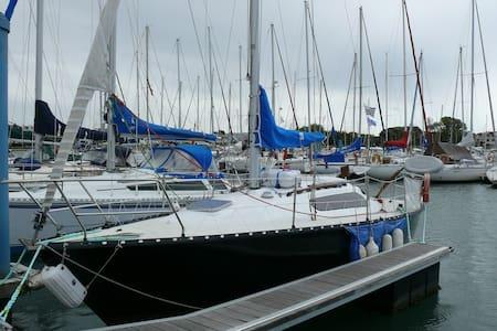 Voilier Kelt 8m au ponton - Port-Louis - Barco