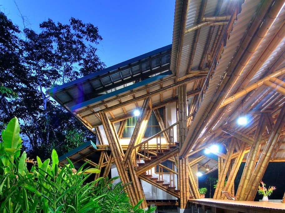 Escaliers et deck