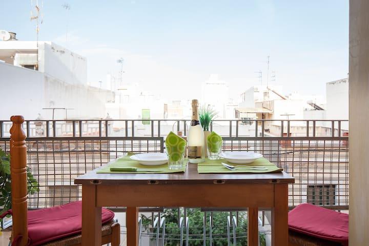 big appartment in center - Almería - Apartment
