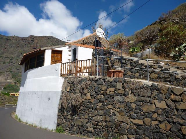casa Luis Hermigua,isla  la Gomera - Hermigua - Hus