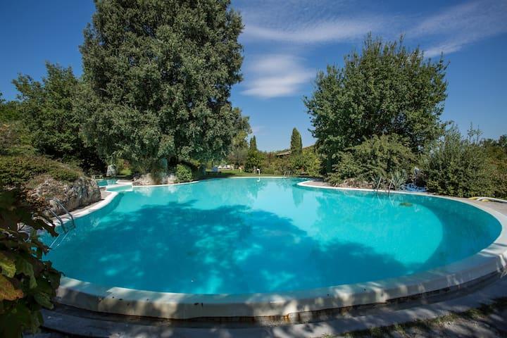 Cottage Vista Giardino & Piscina - Sarteano - อพาร์ทเมนท์