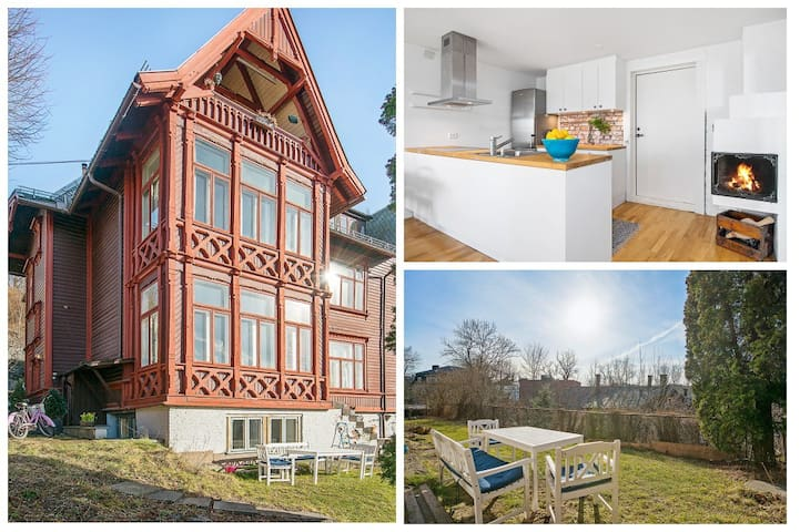 Spacious and charming 1BR - Oslo - Lägenhet