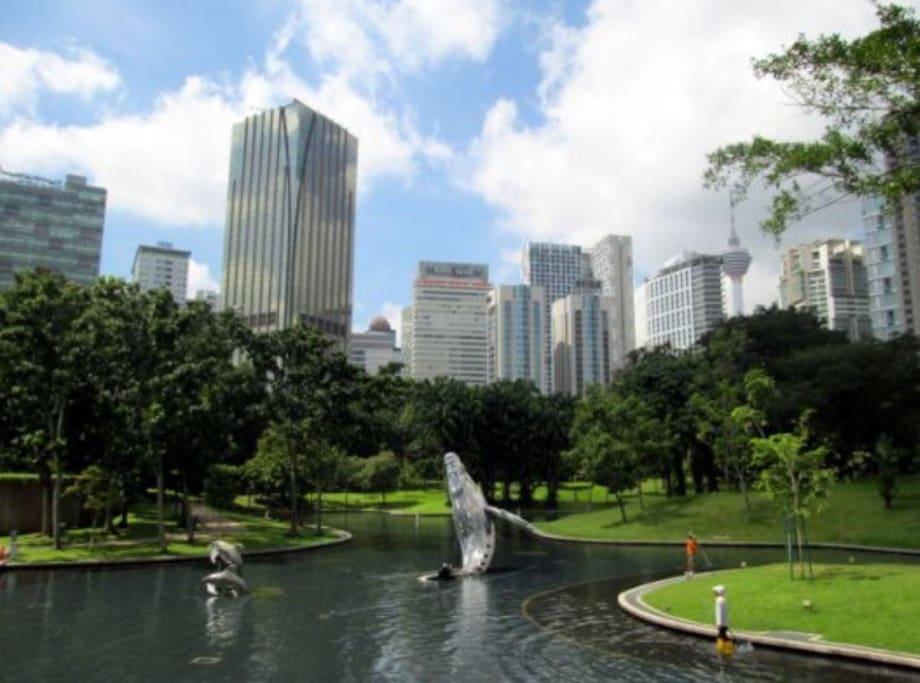 St Mary Residences KLCC is mins walk away from KLCC Park where you can jog.