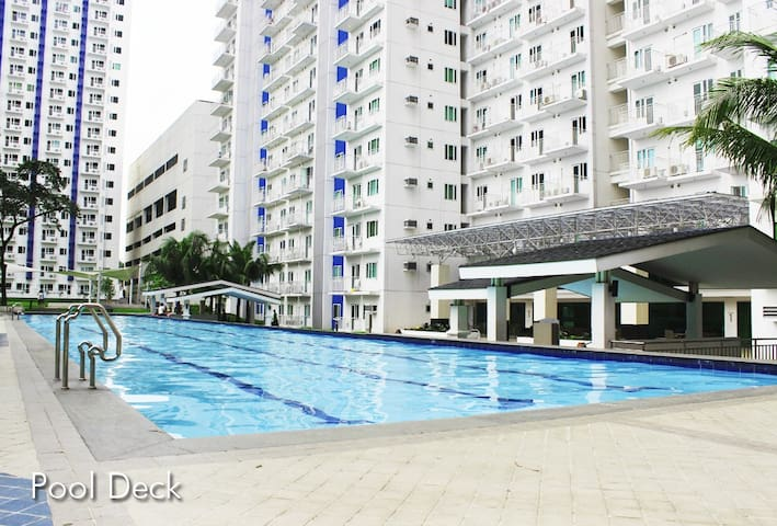 Affordable 2BR,2T&B,fully furnished - Quezon City - Apartamento