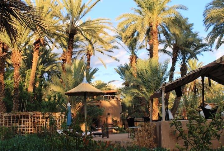 Votre Lodge Insolite au coeur d'une Oasis à Agdz