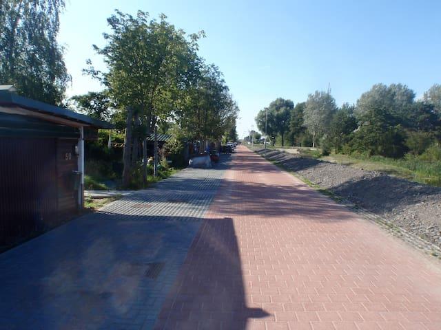 Quiet street- private parking