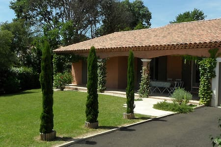 Villa in exclusive residence + pool - Pierrevert - Villa