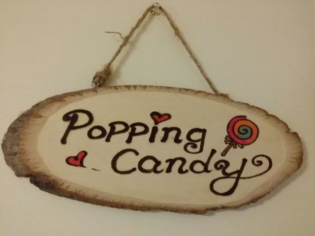 """Popping Candy"" Room(7) for Friends"