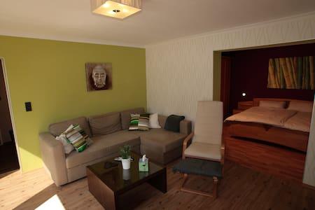 Moderne Komfort-Ferienwohnung WiFi - Bad Gandersheim - Appartement
