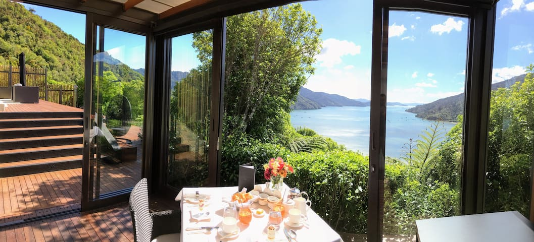 Bed and Breakfast Marlborough Sounds