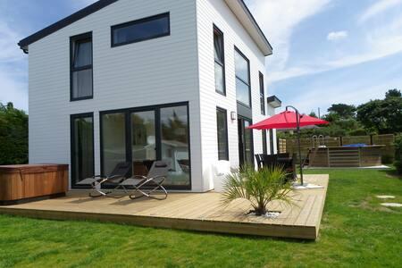 Maison bois avec piscine et jacuzzi - Plouguerneau - Dům
