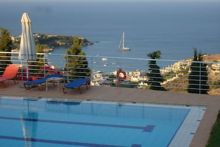 Agnanti Villas a magnificent view - Agia Pelagia