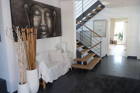 Architektenhaus Alpenblick 2 min A8 - Irschenberg - 獨棟