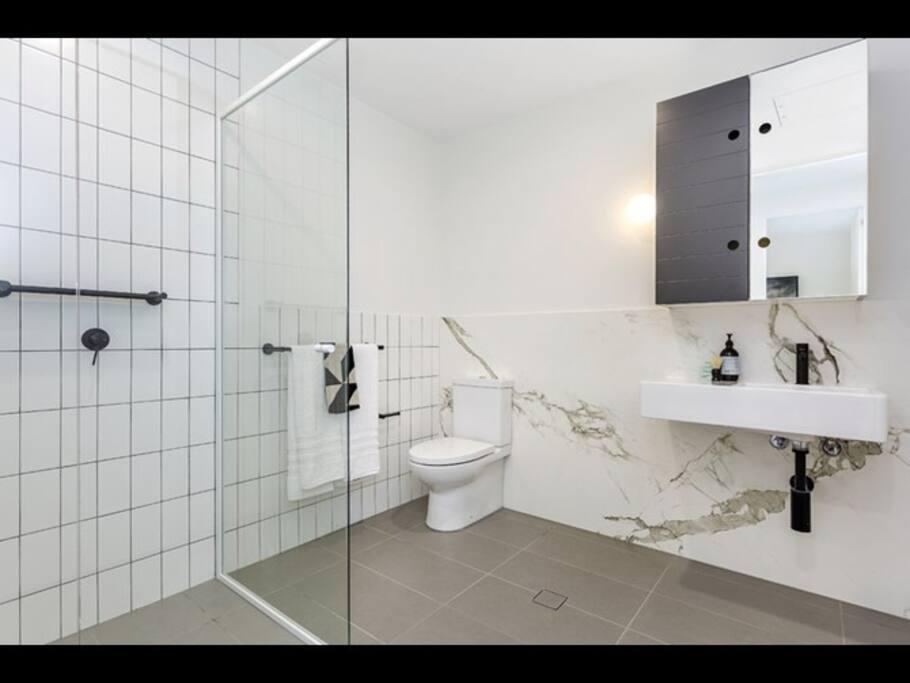 Private Bathroom w/ Shower