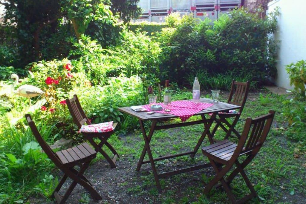 Die WohlfühlOase ...mein Garten
