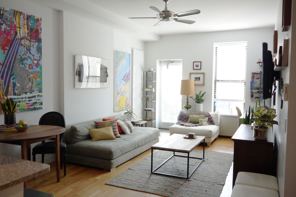 Peaceful Greenpoint Apartment
