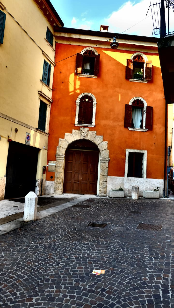 Piero's apartment in Veronetta