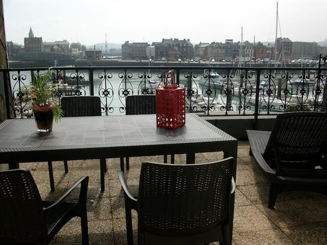 "appartement ""terrasse sur port"" - Dieppe - Apartment"