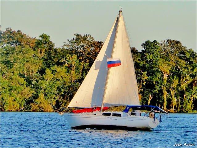 Sailboat Carribian trip