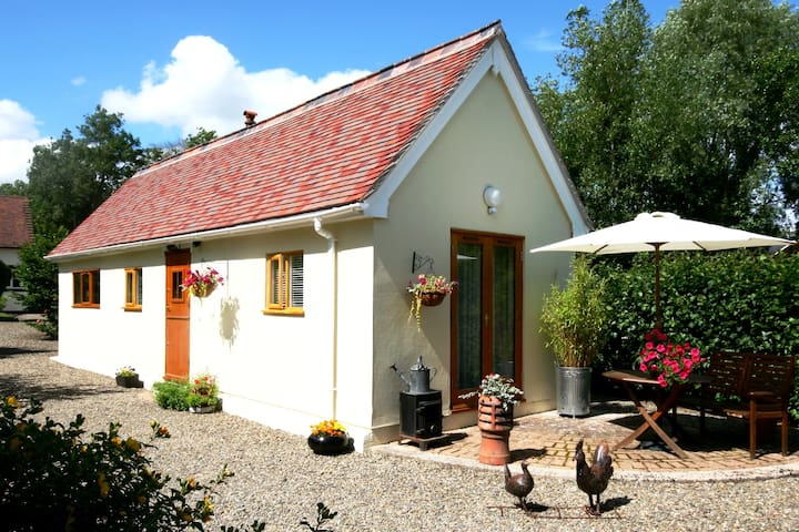 A rural retreat for two near Ludlow - Coreley - Rumah