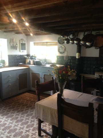 Lovely 17th to 18th century cottage - West Dean - Hus