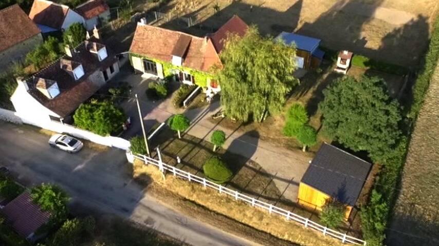 La Longère Denise - Saint-Hilaire-sur-Benaize - House