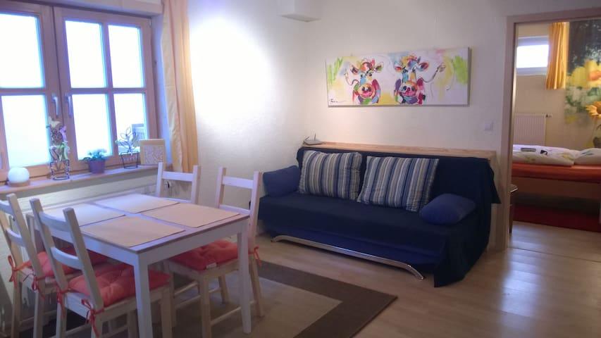 Charmante 2 Zimmer Wohnung - Bad Tölz - Apartament