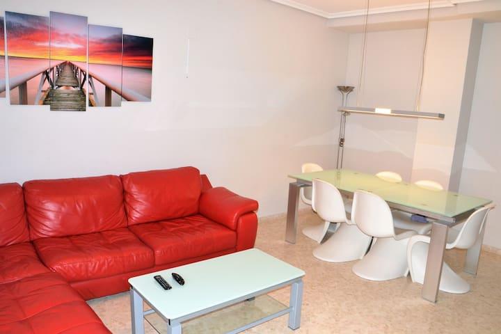 Bonito apartamento con Parking(Congresos,Mestalla) - València - Apartament