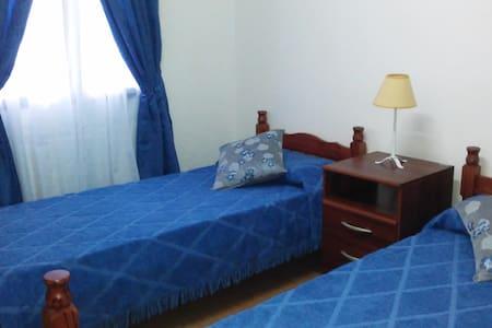 Habitación Azul - Dos camas Ushuaia - Ushuaia