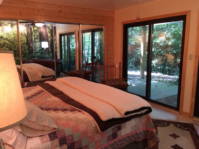 Cozy Comfortable Treehouse (named by our guests) - Pisgah Forest - Wohnung