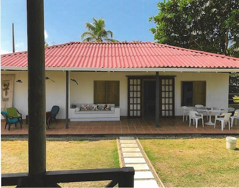 Cabaña with PRIVATE POOL & AIR CONDITIONER
