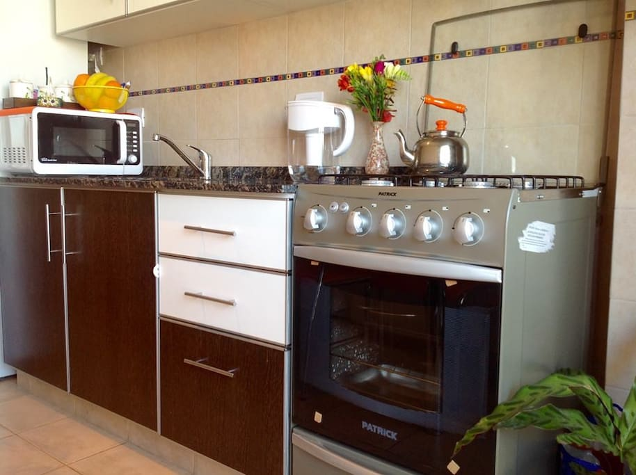 Brand new & Fully equipped kitchen