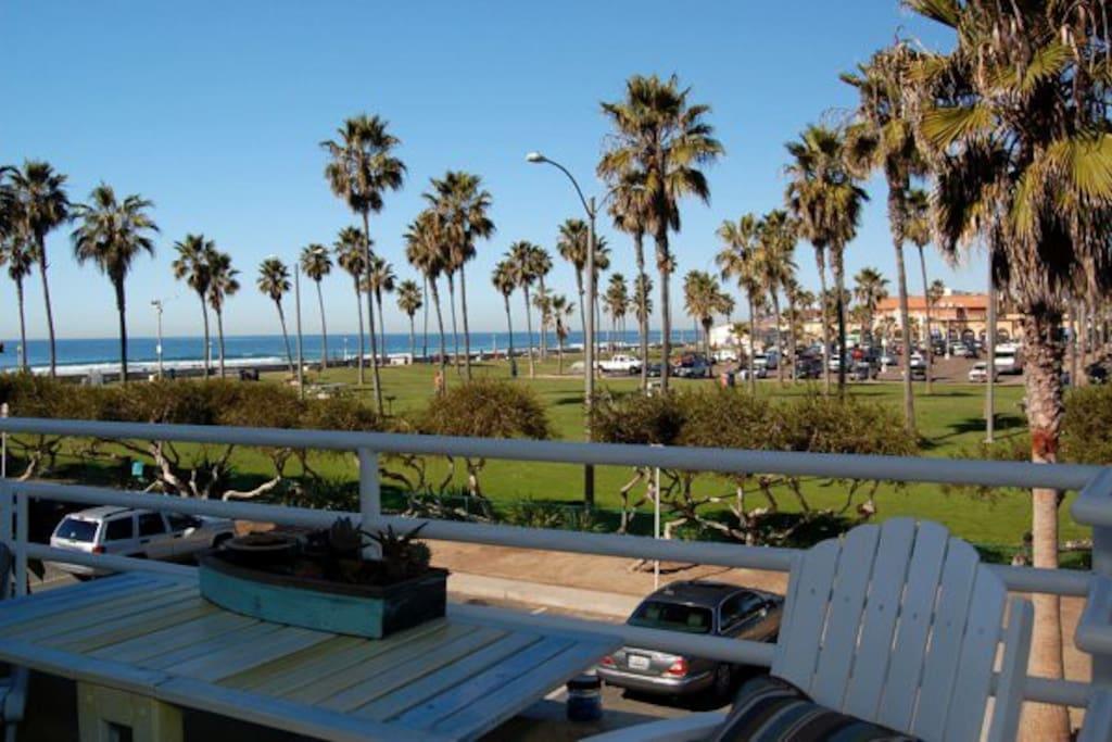 Front Balcony ocean view