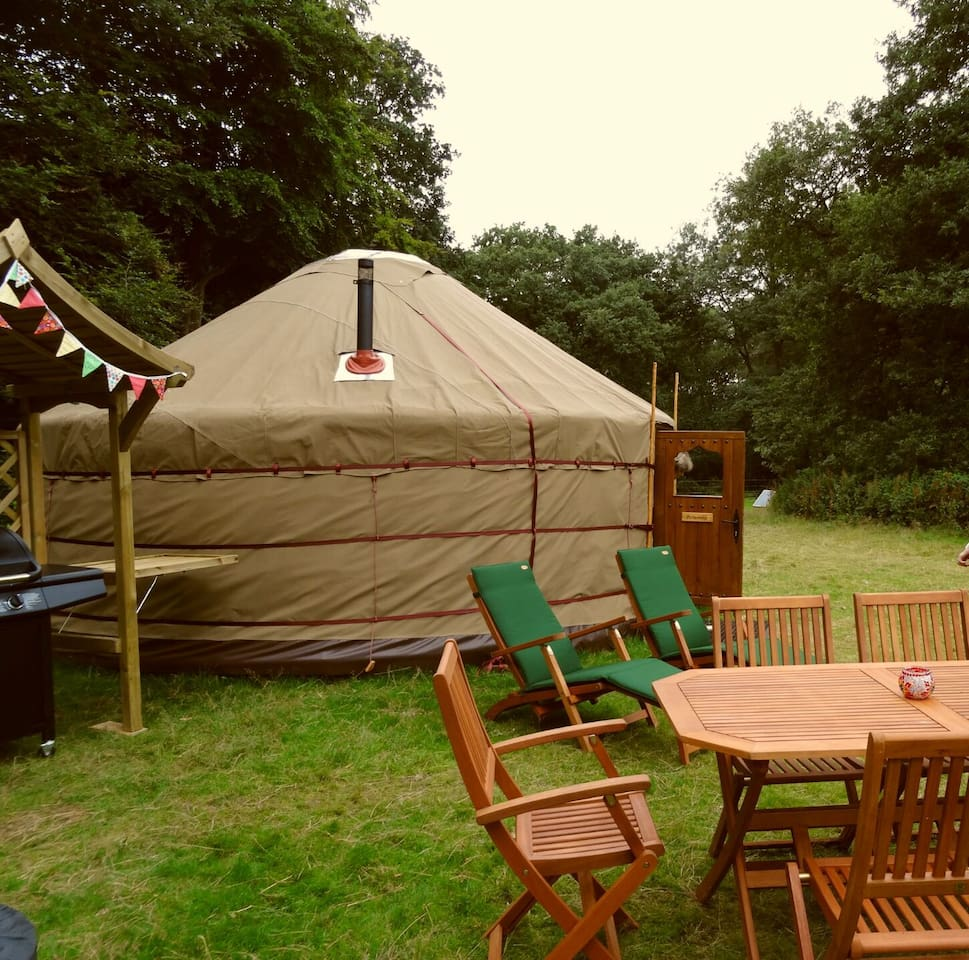 glamp or camp at u0027swallowtails u0027 yurts for rent in holt norfolk