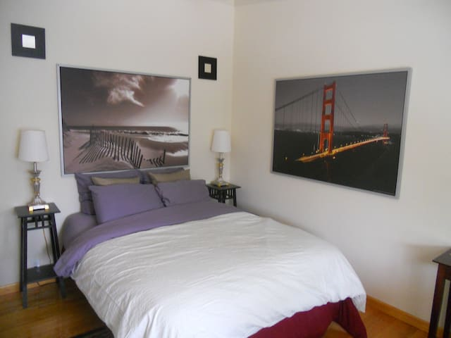1 Bdrm NICE House near dwntwn/SFO/20 minutes to SF