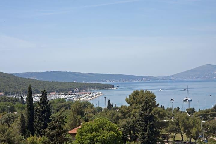 Terrace,barbecue,sea view studio - Split - Daire