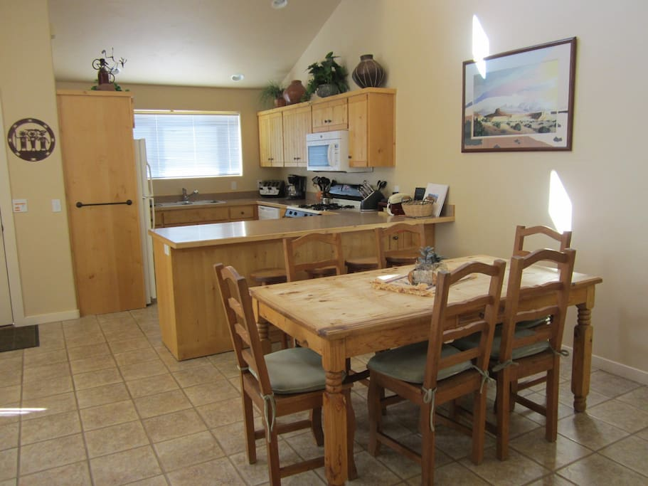 Open Dining and Kitchen Great for entertaining