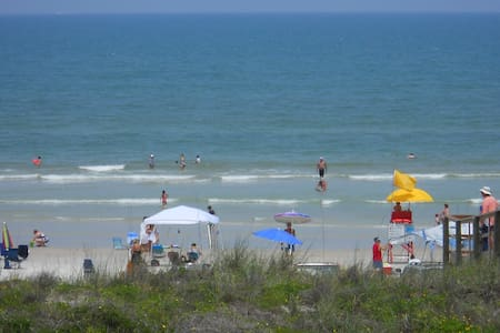 Oceanfront Condo - Crescent Beach  Private Balcony - Saint Augustine