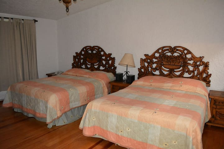Colonial room in the City - Mexiko-Stadt - Haus