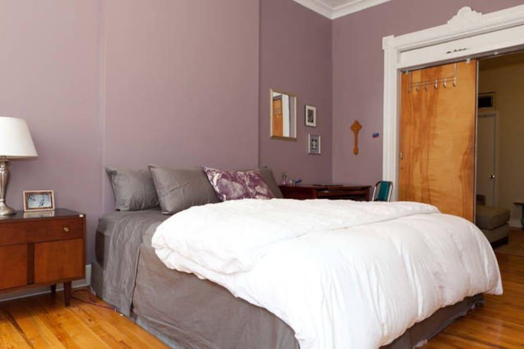 Huge private bedroom