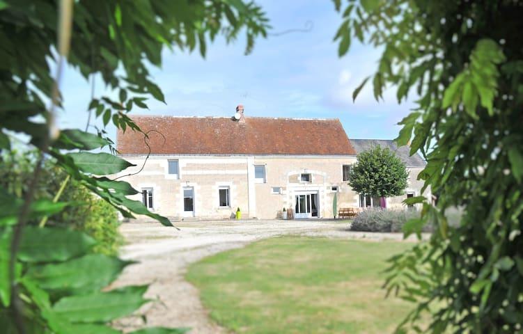 Grande propriété piscine Touraine - Chambourg-sur-Indre