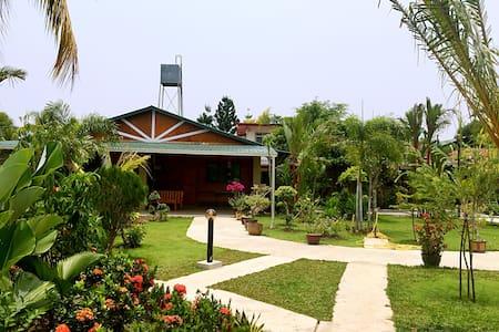 花园民宿玫瑰房 Garden Homestay: Rose 3 - Penampang - Hus