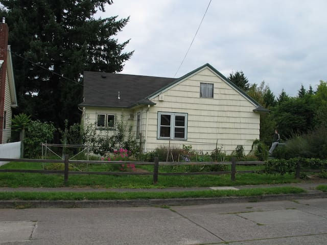 Side of the house.
