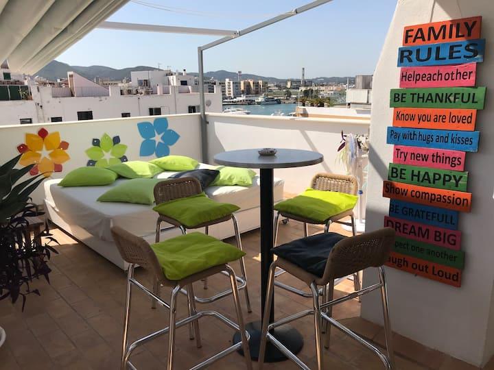 Elegant Apartment in Marina Port Ibiza