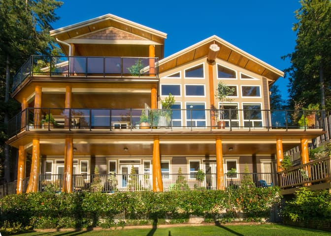 Sunshine coast  waterfront rental - Sechelt - House