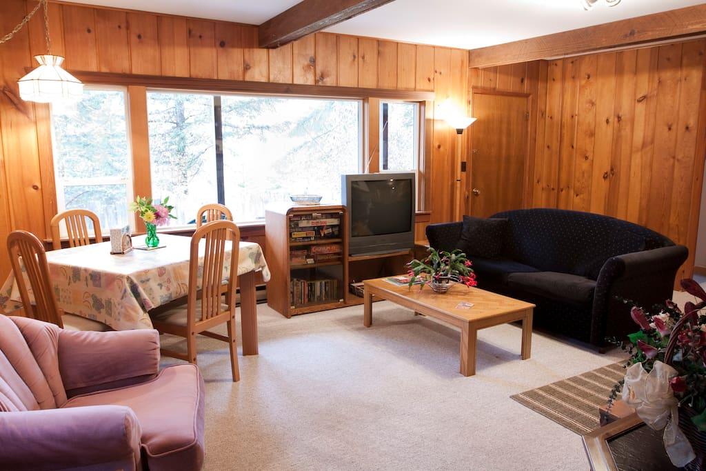 A bright, spacious living room