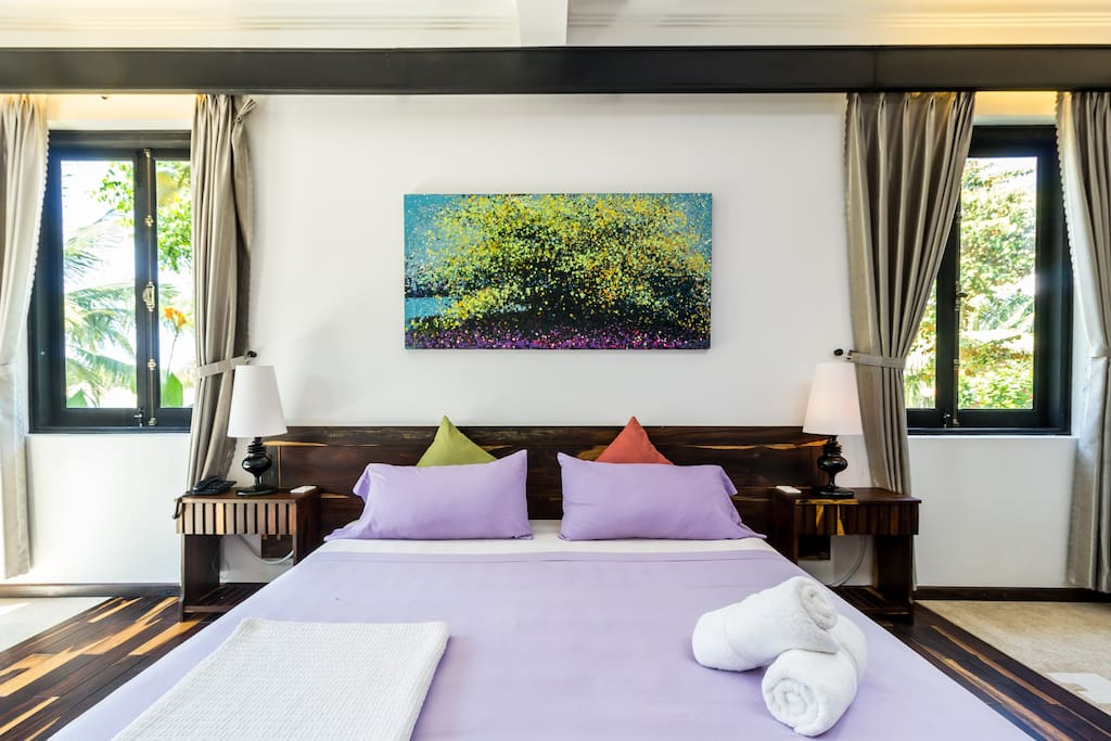 Egyptian cotton linens for the best sleep