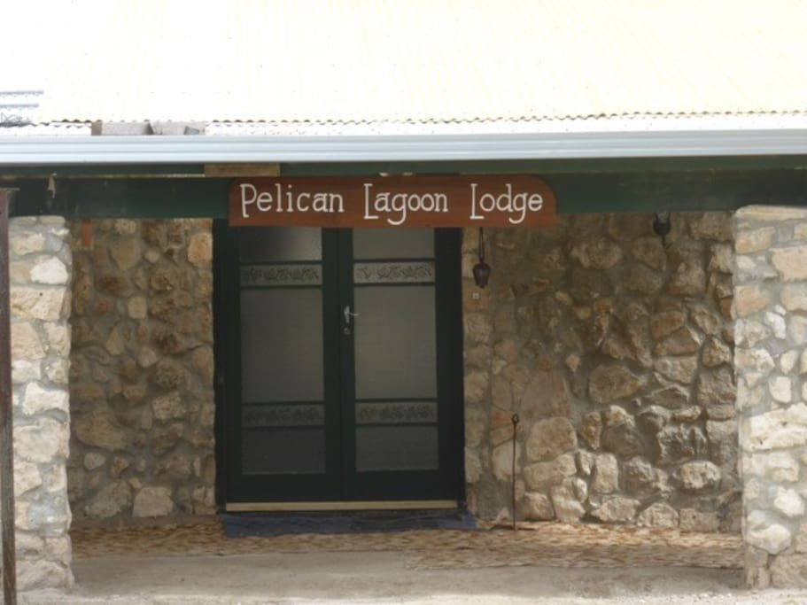 Welcome to Pelican Lagoon Lodge.
