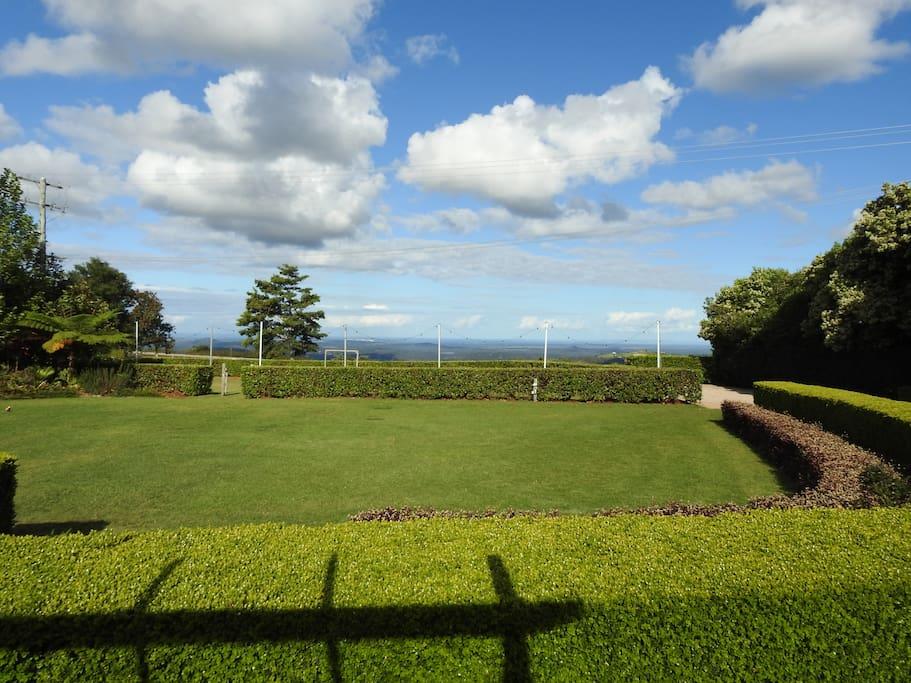 Views to the Sunshine Coast
